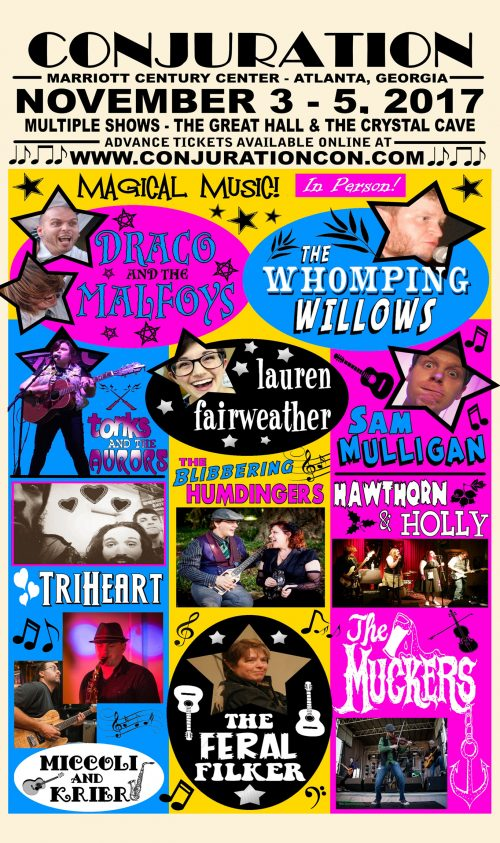 Wizard Wrock Concert Poster 01 - 11x17