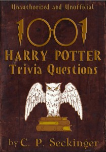 Book cover for 1,001 Harry Potter Trivia Questions